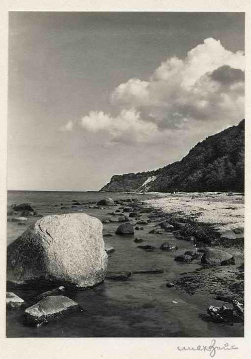 Max Baur - RÜGEN - Am GÖHRENER HÖFT - handsignierte OriginalFotographie des MEISTERs d. Photographische MODERNE kopen? Bied vanaf 39!