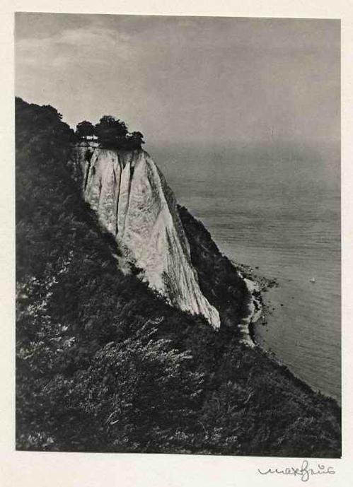 Max Baur - RÜGEN - KÖNIGSTUHL - Handsignierte OriginalFotographie des MEISTERs der Photographische MODERNE kopen? Bied vanaf 39!