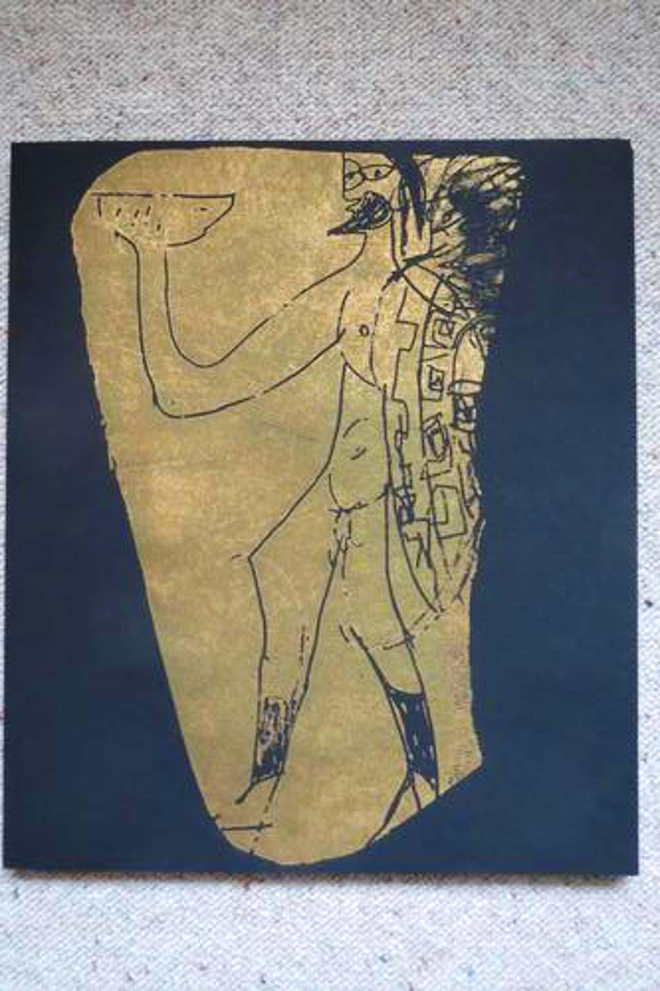 H.A.P. Grieshaber - Scherben: Mappe mit 6 Originalholzschnitten 1964 kopen? Bied vanaf 450!
