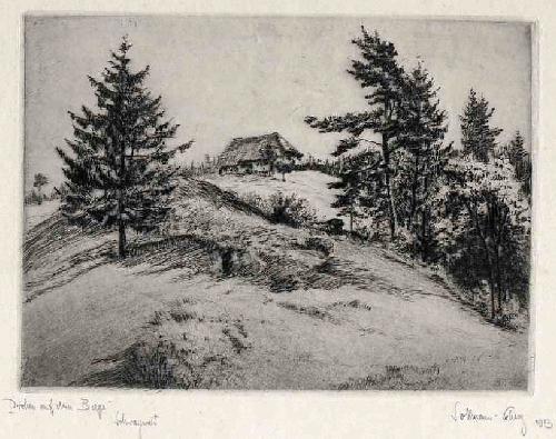 Paul Sollmann - SCHWARZWALD - DROBEN auf dem BERGE 1913 handsignierte OriginalRadierung des ROTHENBURGER Malers kopen? Bied vanaf 35!