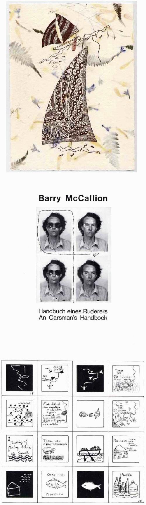 Barry McCallion - - SEGELBOOTE - Originalgraphische Mischtechnik des DAAD- & FLUXUS-Künstlers a. CLERMONT Californien kopen? Bied vanaf 65!