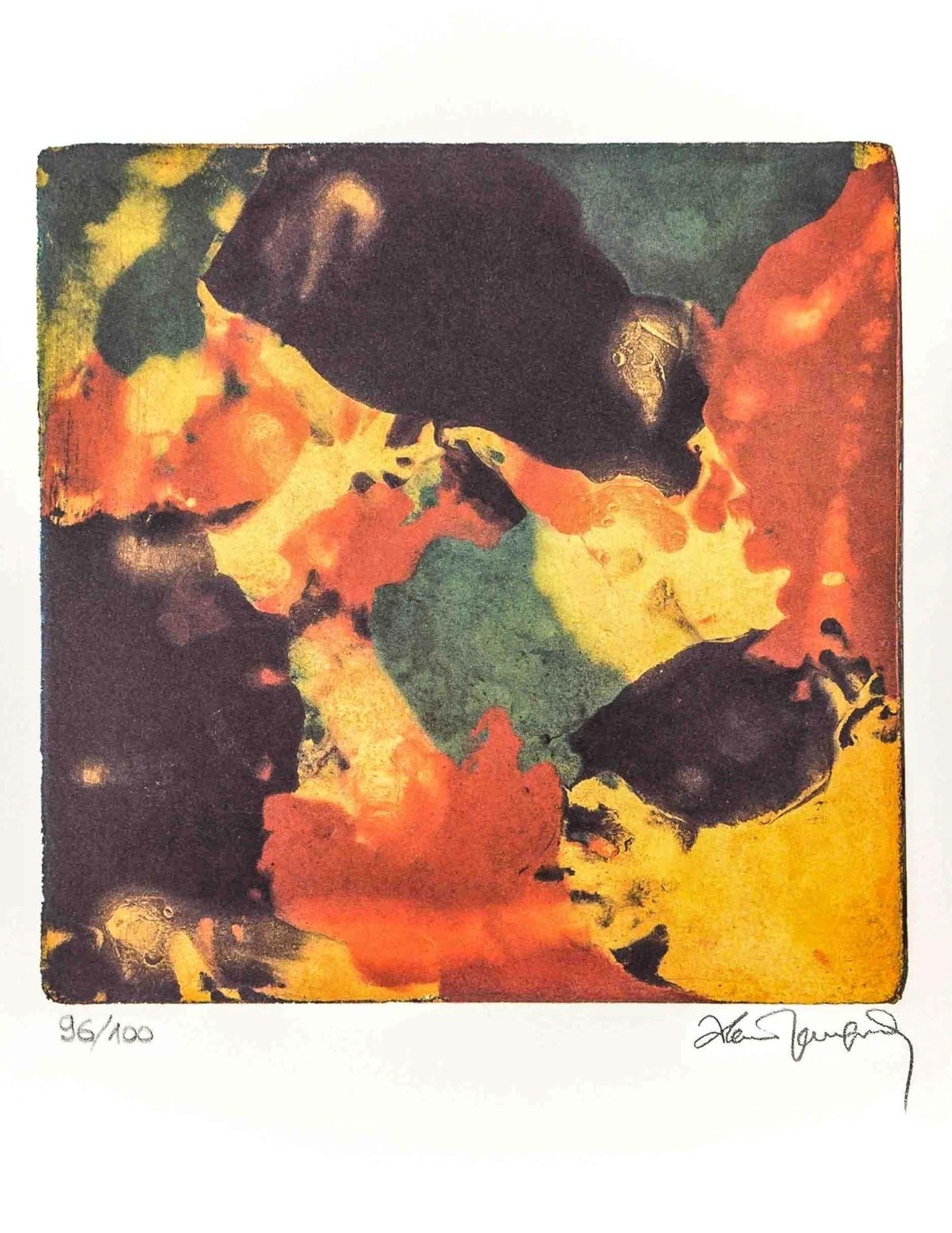 Alain Jacquet - Ohne Titel (Abstrakte Komposition) kopen? Bied vanaf 90!