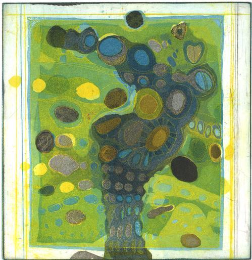 Willibrord Haas - Sepiabaum,Farbradierung ,1979 kopen? Bied vanaf 140!