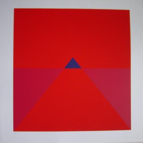 Fritz Ruoff - Serigrafie, 1972, Blatt 60 x 60 cm, Bild 50 x 48 cm, num. 2/70, signiert kopen? Bied vanaf 190!