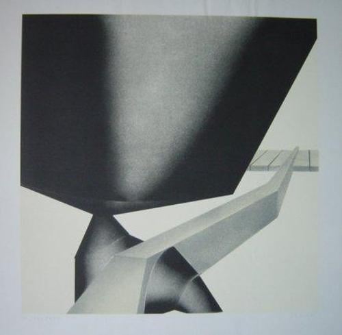 Gerlinde Beck - Serigrafie, 1974, Bild 50 x 50 cm, Blatt 60 x 60 cm, num. 62/70. signiert: G.Beck kopen? Bied vanaf 120!