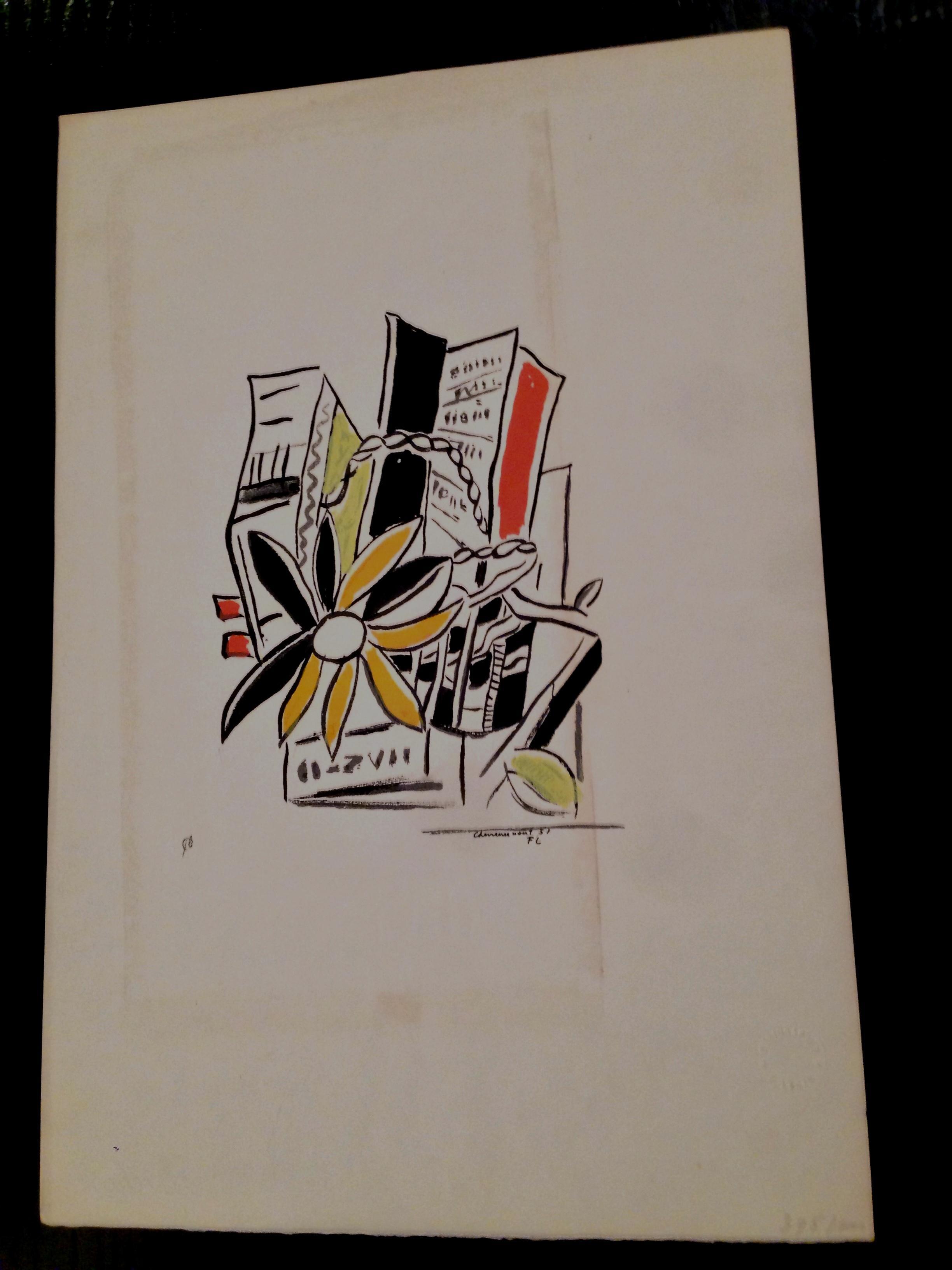 "Fernand Leger - serigraph, from ""Album of Ten Serigraphs"" (1954-55), by Fernand Leger kopen? Bied vanaf 180!"