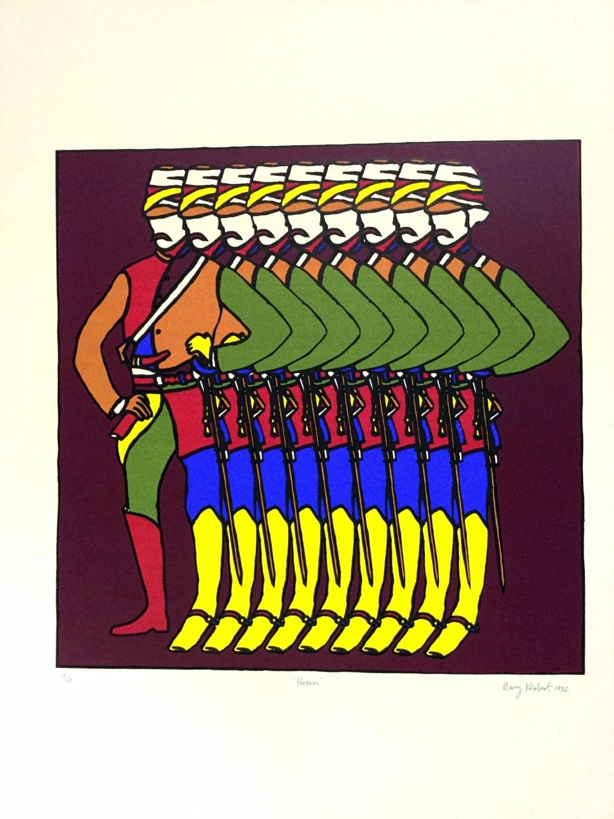 Barry Herbert - Serigraphie 1972 kopen? Bied vanaf 140!