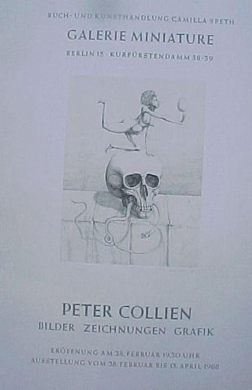 Peter Collien - Sign. Plakat, 1986 kopen? Bied vanaf 40!