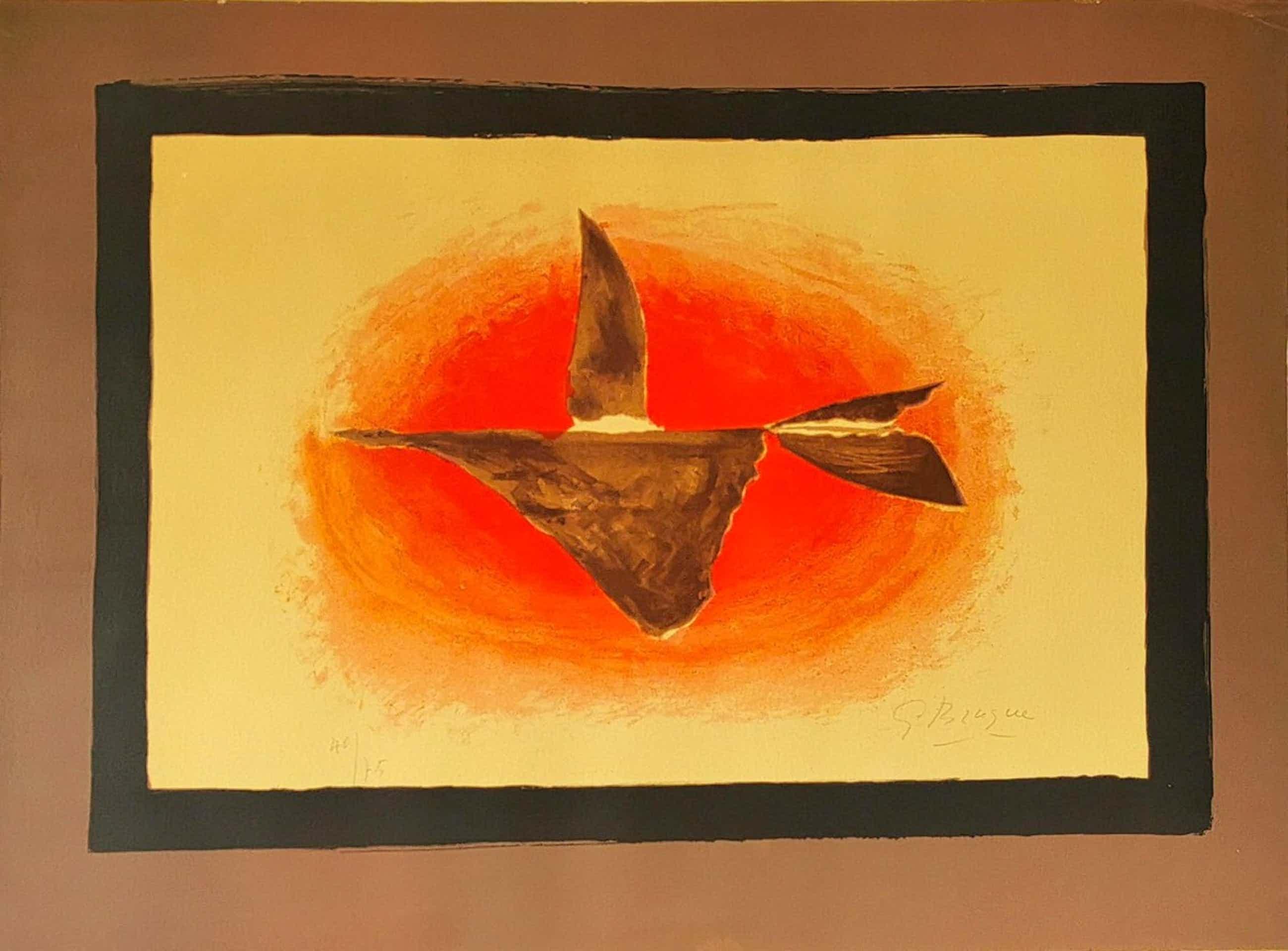 Georges Braque - Oiseau XVI, 1958 Signierte, nummerierte Lithografie kopen? Bied vanaf 3800!