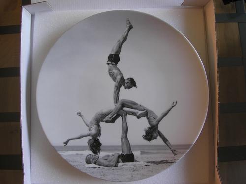 Jeff Koons - signierte Plate-edition von 2001, limitierte Auflage kopen? Bied vanaf 800!