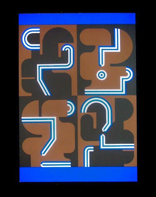 Georg Bernhard - Signierter Farbsiebdruck, 1971. kopen? Bied vanaf 55!