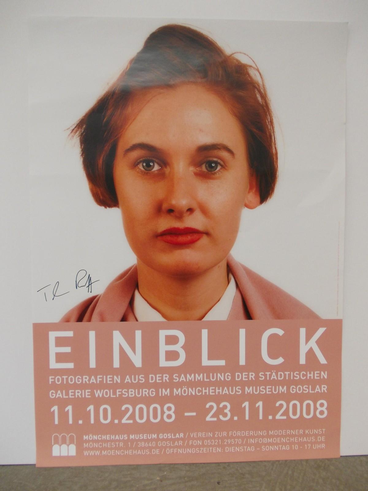 Thomas Ruff - signiertes Ausstellungsplakat kopen? Bied vanaf 280!
