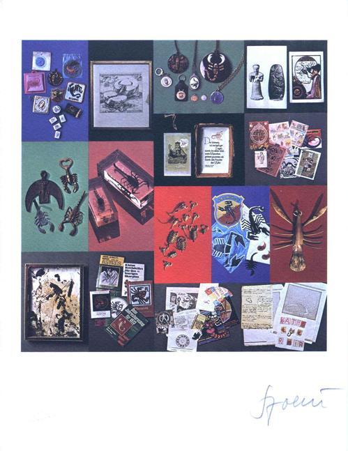 Daniel Spoerri - Skorpion, Fotolitho 1975, num. und handsigniert kopen? Bied vanaf 60!