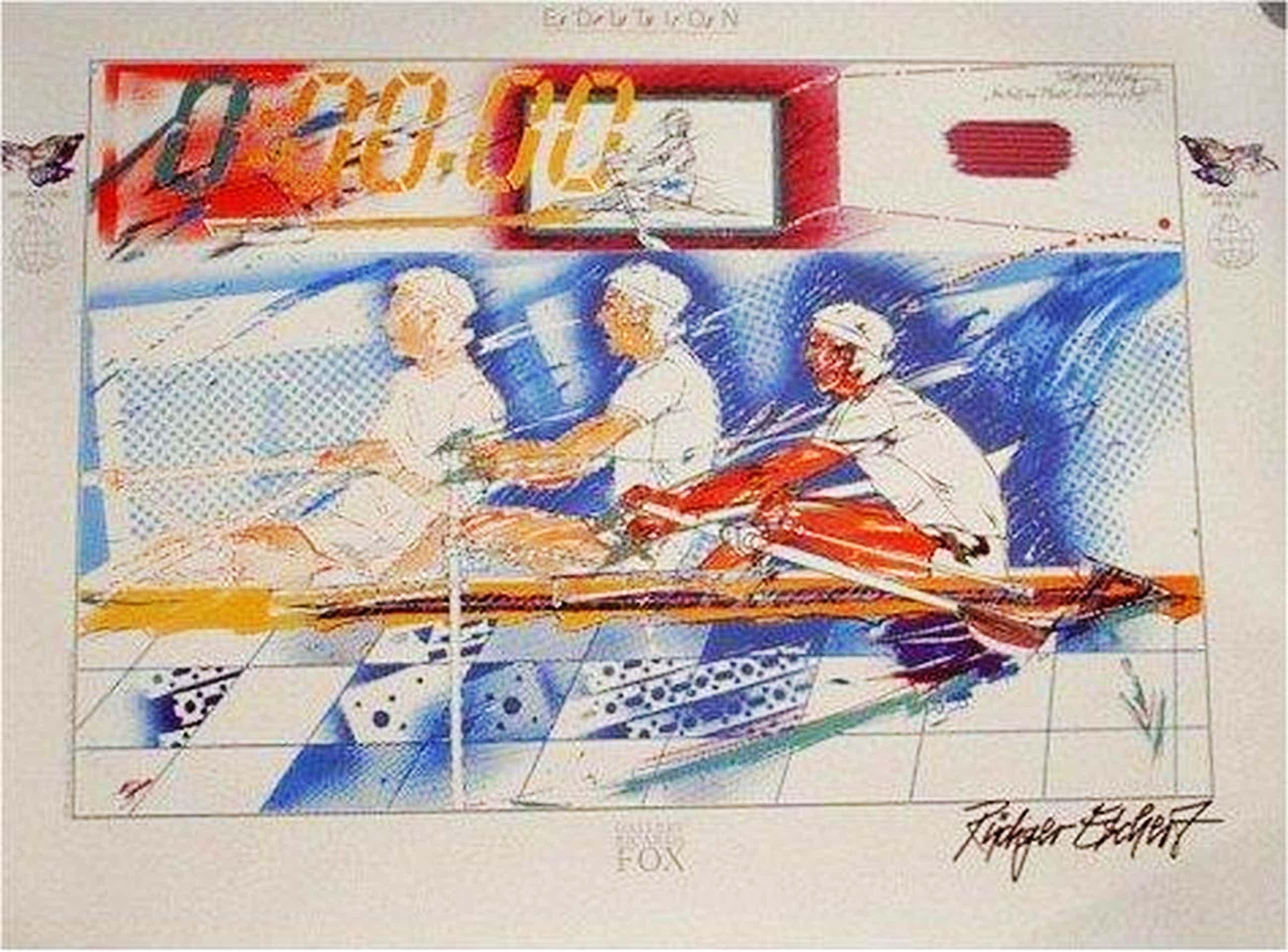 Rüdiger Eschert - Sonderedition Sport for peace, 1997 ,handsigniert kopen? Bied vanaf 90!