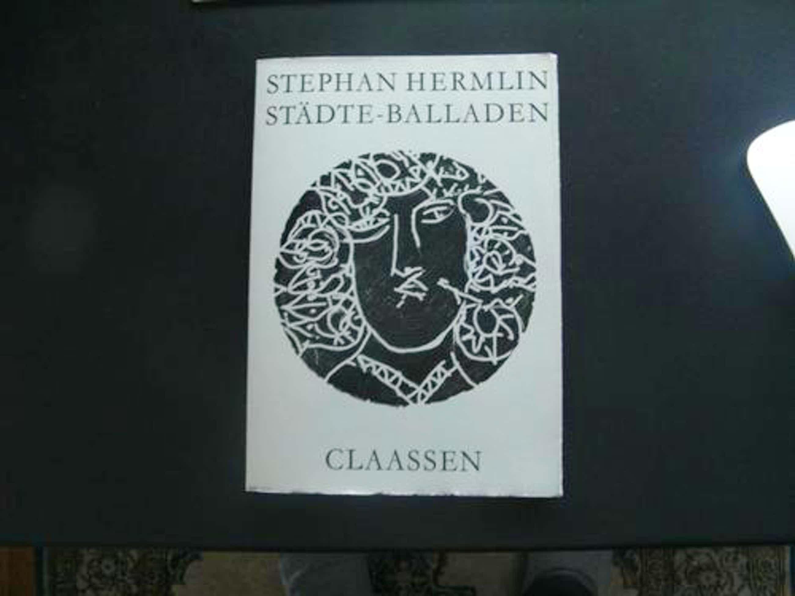 Helmut Andreas Paul GRIESHABER Grieshaber - STÄDTE - BALLADEN STEHPHAN HERMLIN kopen? Bied vanaf 28!
