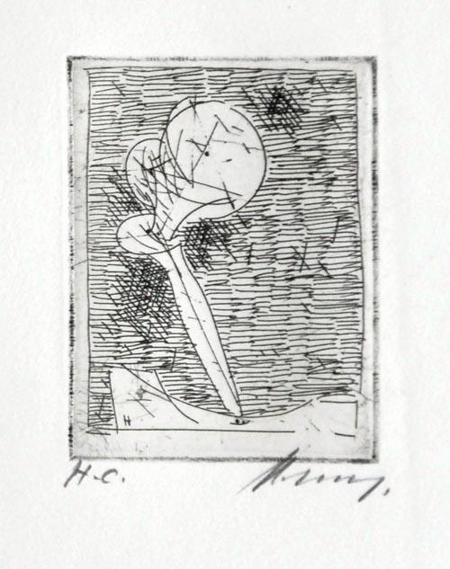 Rudolf Hoflehner - Studie II - Radierung auf Büttenpapier, handsigniert, bezeichnet mit H.C.,1965 kopen? Bied vanaf 190!