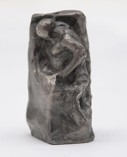 Alfred Hrdlicka - Studie zu Anthropos, Skulptur, Edelzinn versilbert, altsilber, 1981 kopen? Bied vanaf 120!