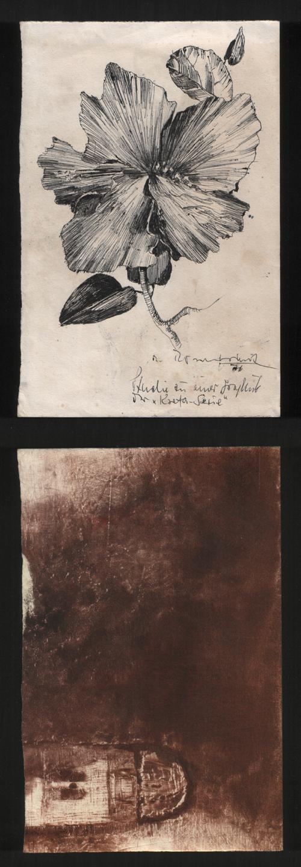Rupert Rosenkranz - Studie zur Kreta-Serie, Handzeichnung 1976. kopen? Bied vanaf 50!