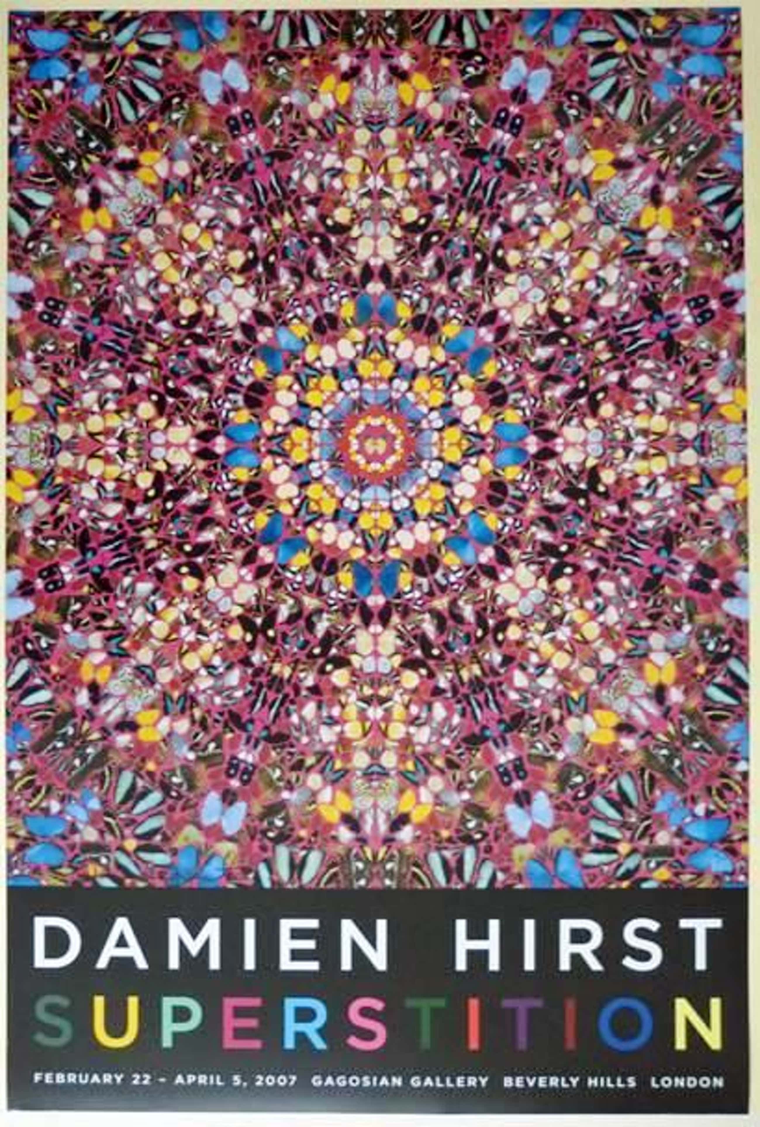 Damien Hirst - Superstition Gagosian 2007, Galerieauflage, handsigniert kopen? Bied vanaf 1500!