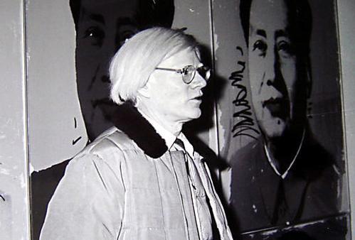 Andy Warhol - s / w - Foto, Portrait seitlich, vor Bilderwand, 20,5 x 30,5 cm, 14. November 1980 in Stuttgart kopen? Bied vanaf 29!