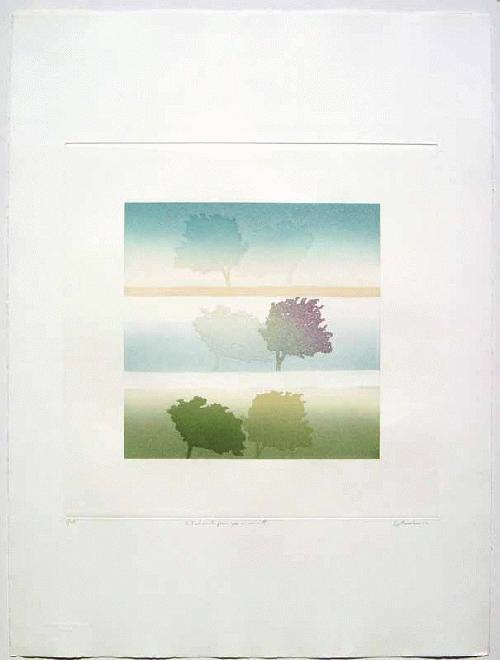 Jean Solombre - - TENDRESS DES JOURS - Farbradierung auf Bütten, handsigniert und betitelt, numeriert, 1984 kopen? Bied vanaf 190!