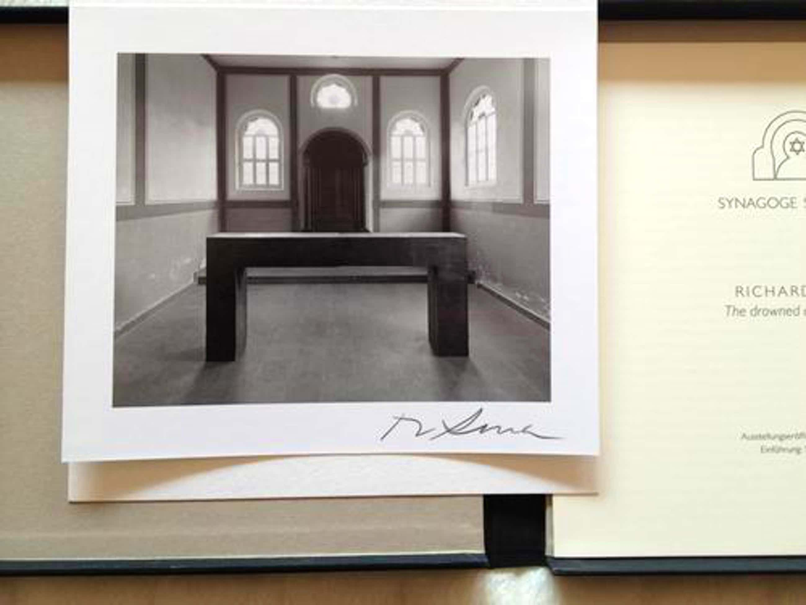 Richard Serra - The drowned and the saved - handsignierte Photo Edition Auflage 100 kopen? Bied vanaf 790!