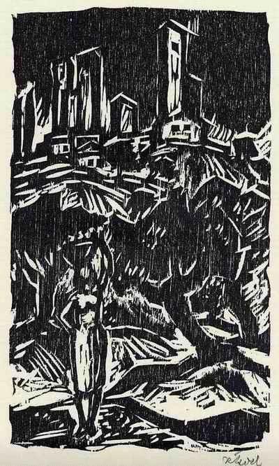 Rudolf Koch - TOSCANISCHE STADT - Handsignierter OriginalHolzschnitt des BRAUNSCHWEIGer Künstlers (Jahrgg.1902) kopen? Bied vanaf 32!