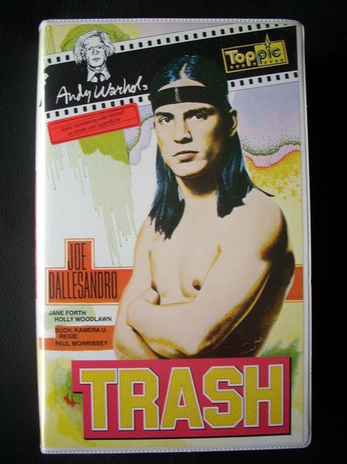 Andy Warhol - TRASH - Original Video Kassette dieses Kultklassikers der 70er-Jahre kopen? Bied vanaf 30!