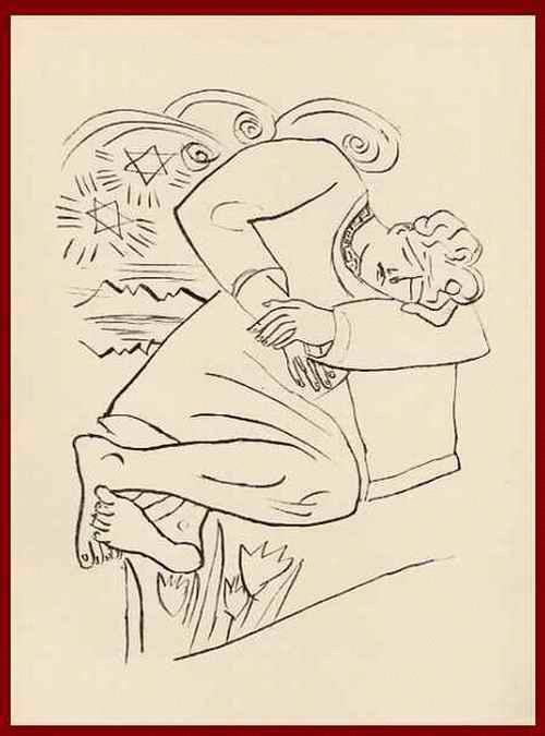 Max Beckmann - TRÄUME: ANMUTIGE GEGEND - OriginalHolzstich - 1957, mit dem Prägestempel der BlattNummer 1 kopen? Bied vanaf 54!