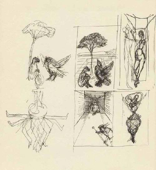 Rudolf Hausner - - TRAUMFRAGMENTE - OriginalLithographie des PHANTASTISCHEN REALISTEN aus WIEN - 1969 kopen? Bied vanaf 45!