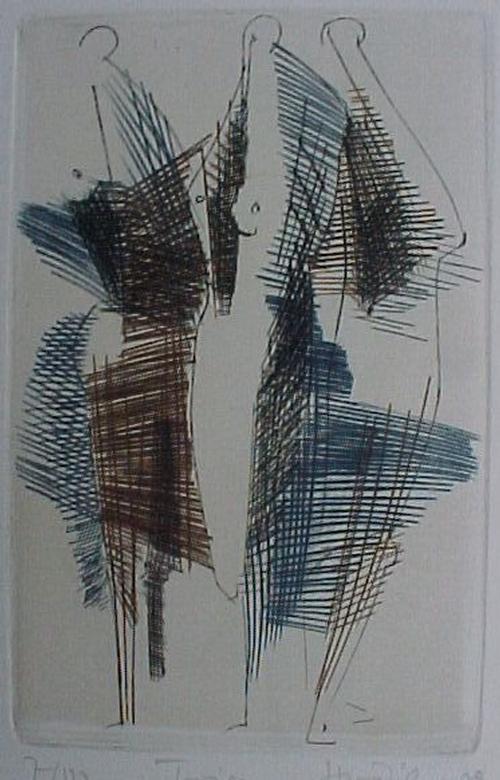 Hubertus Von PILGRIM - Trias, Kupferstich in 3 Farben, 1983 kopen? Bied vanaf 60!