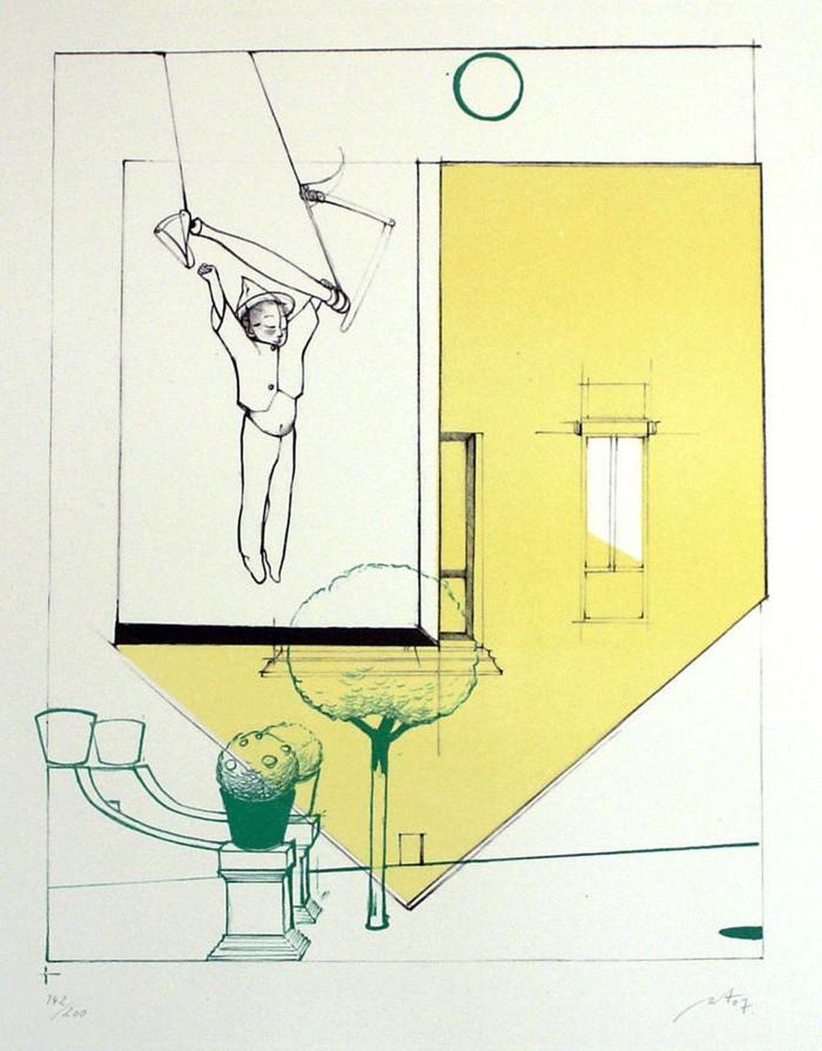 Anya Triestram - Triestram, Vertigo. 2007, Farblithographie kopen? Bied vanaf 65!