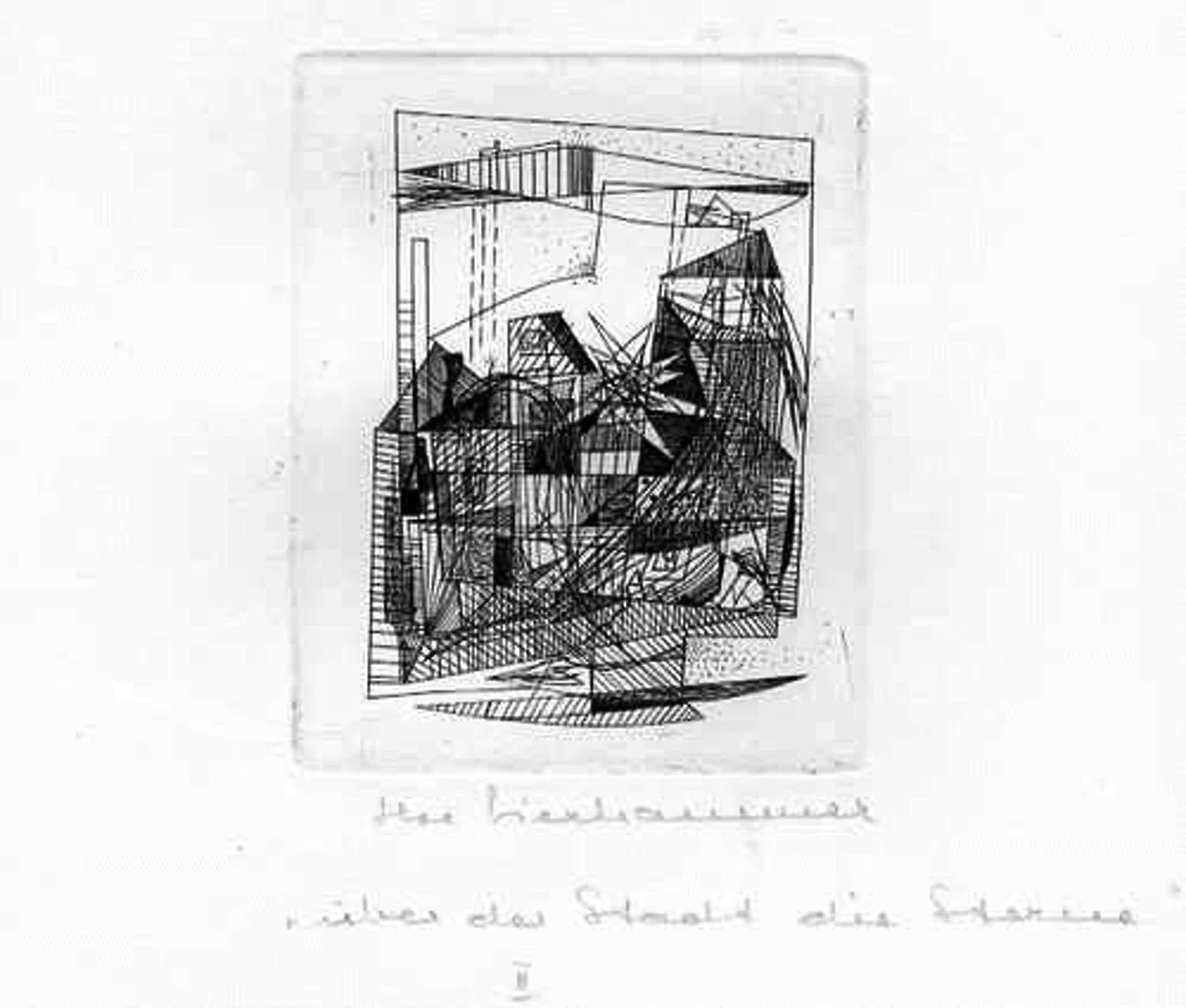 Ilse Lierhammer - Über der STADT die STERNE II - Originalradierung der SCHWEIZer Künstlerin - handsigniert & tituliert kopen? Bied vanaf 30!