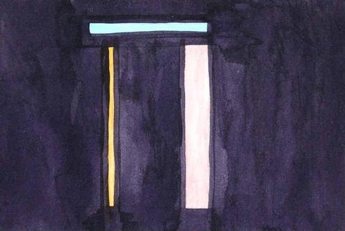 A.K. Schulze - UNIKAT - Original-Malerie auf Papier von 1988, verso handsigniert und datiert kopen? Bied vanaf 250!