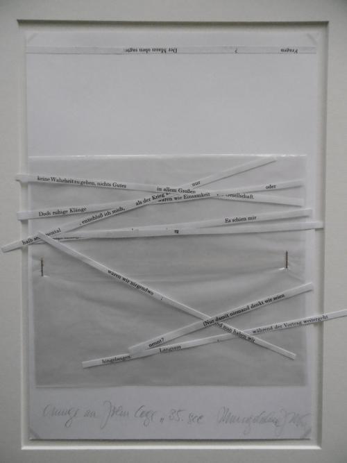 Magdalena Jetelov· - UNIKAT-Textobjekt, 2007, signiert, betitelt, div. Materialien kopen? Bied vanaf 290!