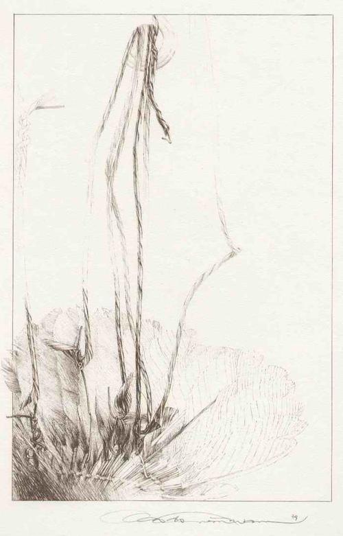 Clas D.S. Steinmann - UNTERM RECHTEN FLÜGEL Handsignierte Lithographie des Mac ZIMMERMANN Meisterschülers (TRIER-GIESSEN) kopen? Bied vanaf 75!