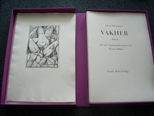 Thomas Häfner - VAKHER - Roman mit 8 Originalradierungen in Leinenkassette kopen? Bied vanaf 95!