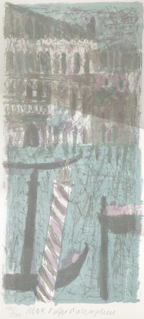 Max Peiffer Watenphul - Venedig, Lithografie in drei Farben kopen? Bied vanaf 520!