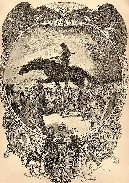 Erhard Amadeus-Dier - - VERGANGENHEIT und LEID - Original-Radierung des WIENER Künstlers - handsigniert 1919 - JUGENSTIL kopen? Bied vanaf 45!