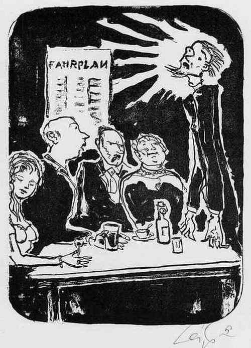 Hans Leip - VERKÜNDIGUNG - Handsignierte Original-Lithographie des LILI MARLEEN Verfassers aus HAMBURG - 1973 kopen? Bied vanaf 75!