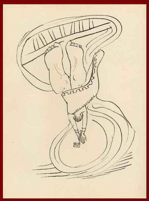 Max Beckmann - VERSINKE DENN ! ICH KÖNNT AUCH SAGEN: STEIGE - 1957 - OriginalHolzstich zu GOETHEs FAUST - Blatt 7 kopen? Bied vanaf 54!