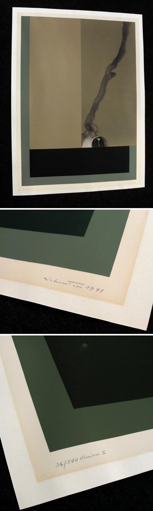 Johannes Schreiter - Version I, Farbsiebdruck, 1971. kopen? Bied vanaf 95!
