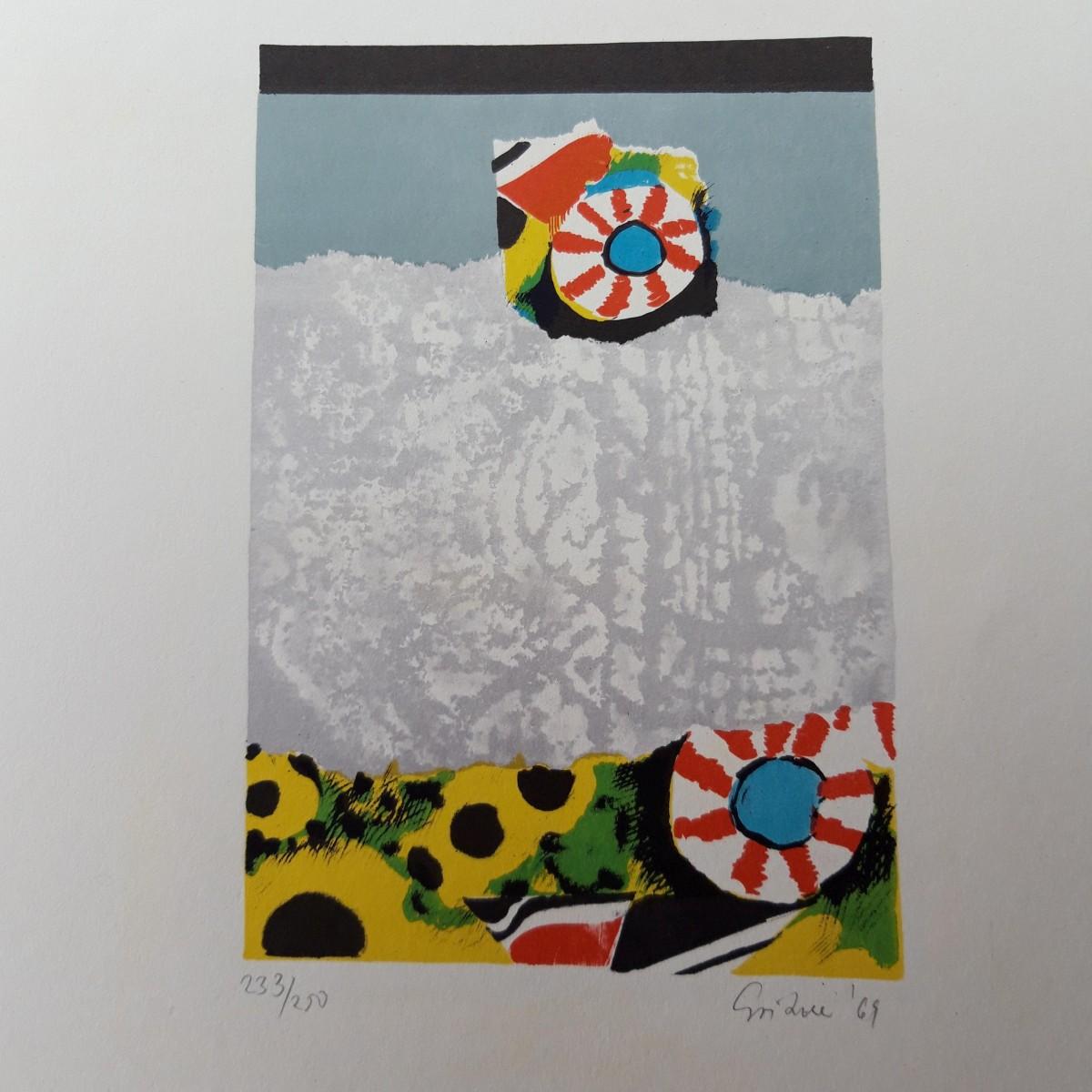 Günter Gritzner - 'Vinci-Mappe' mit 10 Lithographien, 1968 kopen? Bied vanaf 295!