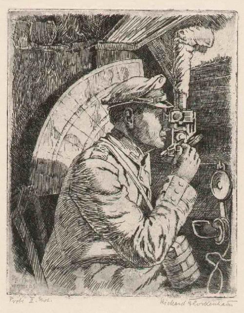 Richard Flockenhaus - VOR ARRAS - 1916 - Handsignierte OriginalRadierung des BERLIN Ansässigen der KÖNIGLICHEN KUNSTSCHULE kopen? Bied vanaf 52!