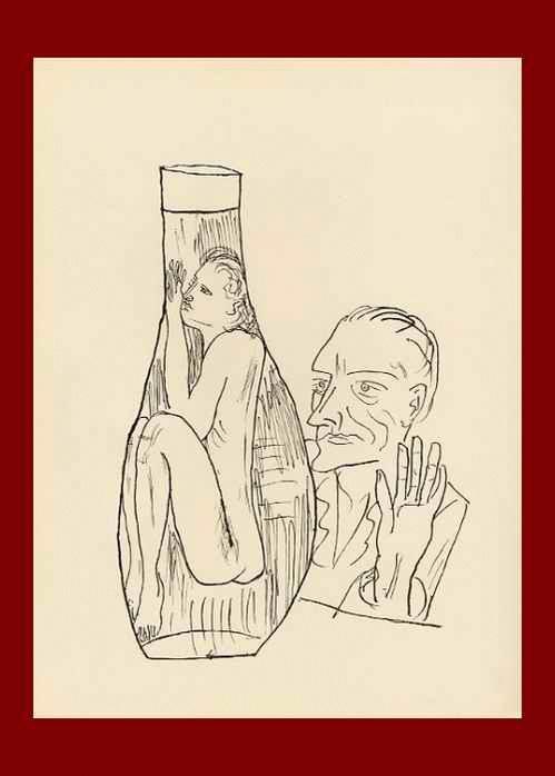 Max Beckmann - WAGNER - OriginalHolzstich - 1957 mit dem Prägestempel der BlattNummer (9) kopen? Bied vanaf 54!