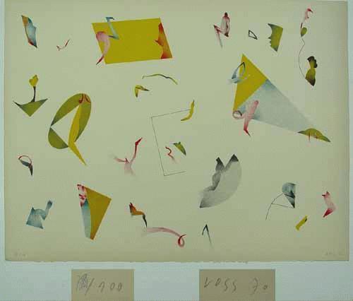 Jan Voss - - WAS AUCH NOCH WAR - Farblithografie auf Bütten, handsigniert, datiert, numeriert kopen? Bied vanaf 240!
