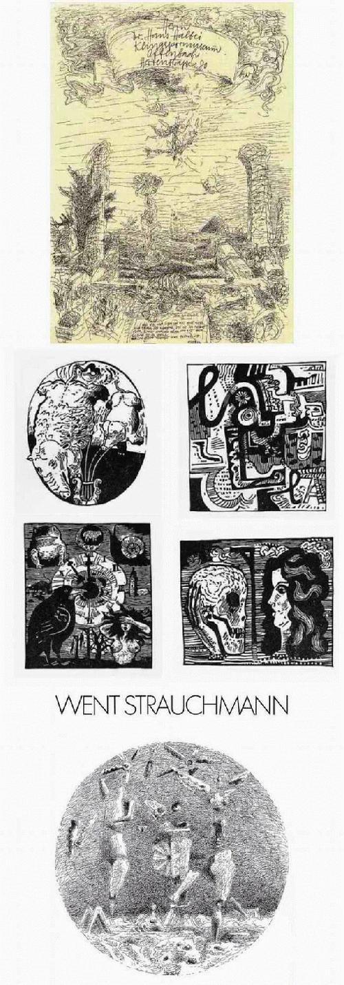 Went Strauchmann - WAS WIR SIND - SCHON SIND WIR ES NICHT MEHR - Original Federzeichnung des MÜNCHNERs aus LITAUEN 1975 kopen? Bied vanaf 132!