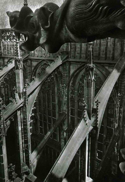 Josef Ehm - WASSERSPEIER - 1947 - Original Silbergelatine-Abzug des Fotographen der TSCHECHISCHEN MODERNE kopen? Bied vanaf 120!