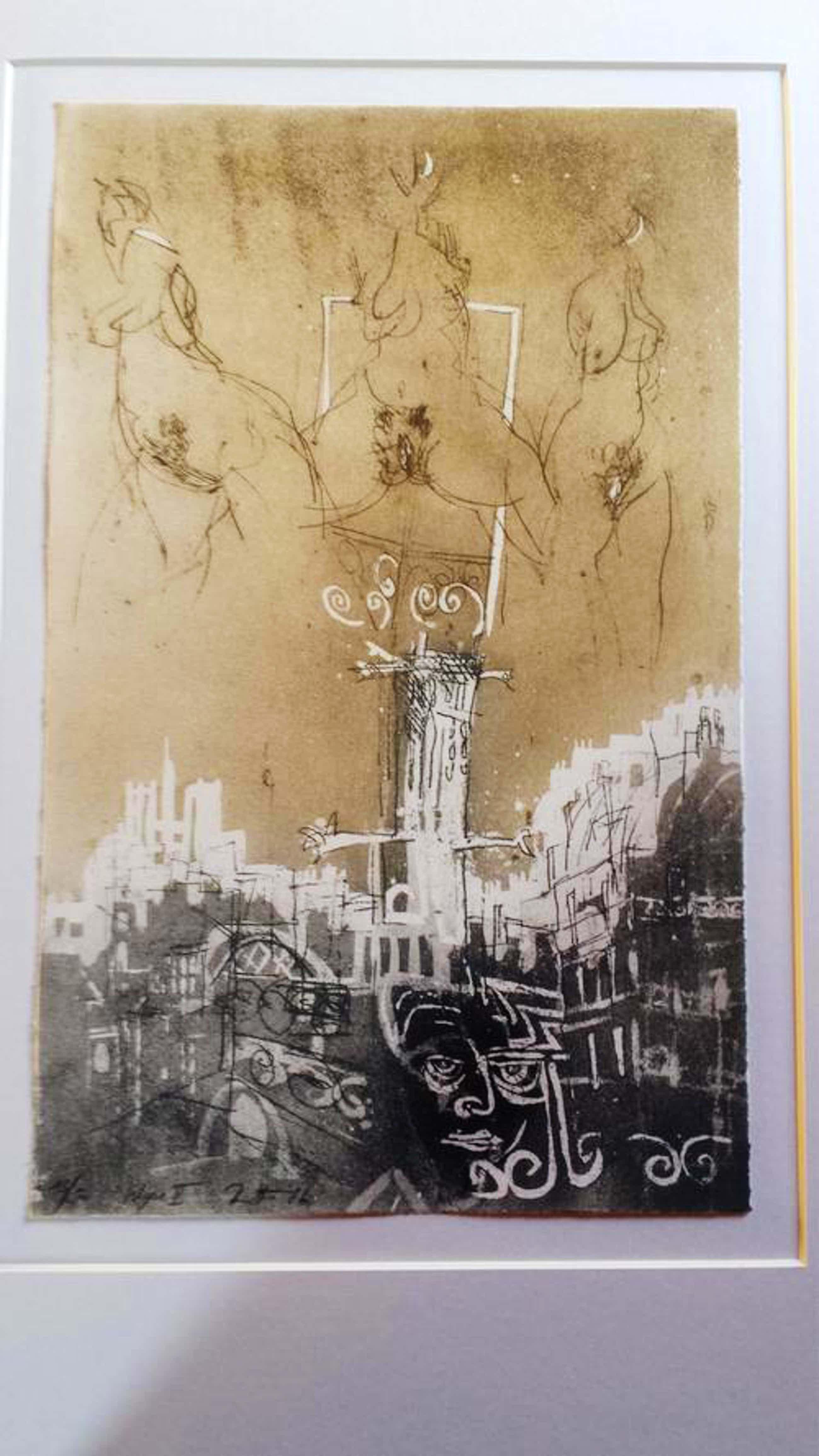 Karl Brandstatter - Wege II, Lithographie kopen? Bied vanaf 150!