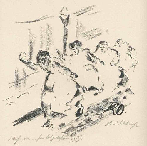 Rudolf Odebrecht - WEHE WENN SIE LOSGELASSEN - AUFSTAND der FRAUEN - Handsignierte & titul.OriginalLithographie 1925 kopen? Bied vanaf 65!